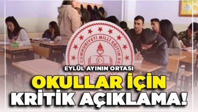 Photo of Okulların Açılması Hakkında Kritik Açıklama !