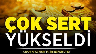 Photo of Gram Altın ve Çeyrek Altın Fiyatları Tarihi Rekor Kırdı ! Altın Fiyatları Çok Yükseldi